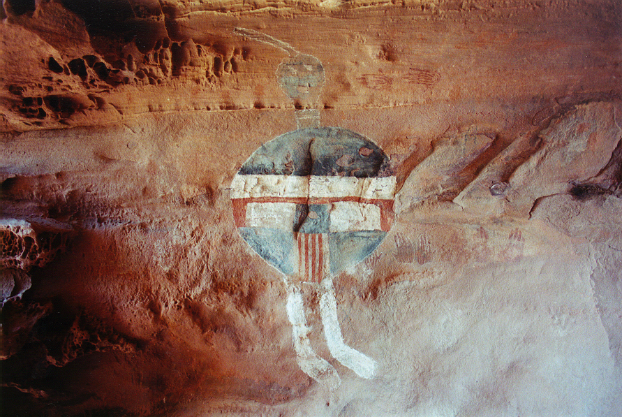 Archaic Barrier Canyon Style Rock Art